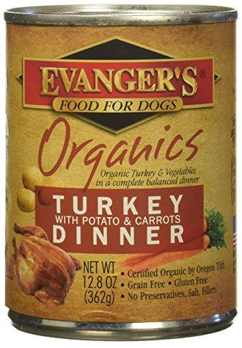 Evanger's Evanger's Organic Turkey/Potato Canned Dog Food Evanger's Organic Turkey/Potato Canned Food