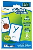 [ミード]Mead Alphabet Flashcards, 55 Cards, Grades PreK to 1 63038 [並行輸入品]