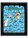 Rick & Morty - Poster 3D Mr. Meeseeks