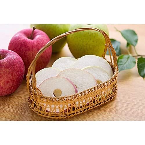 ソフトりんご (2枚入×3袋)×5セット 青森りんご フリーズドライ はとや製菓 (王林)