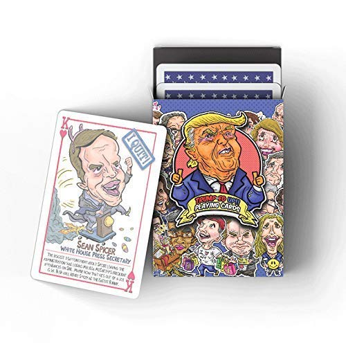 Trumped Up Playing Cards [GREAT GAG GIFT] [TREMENDOUS]
