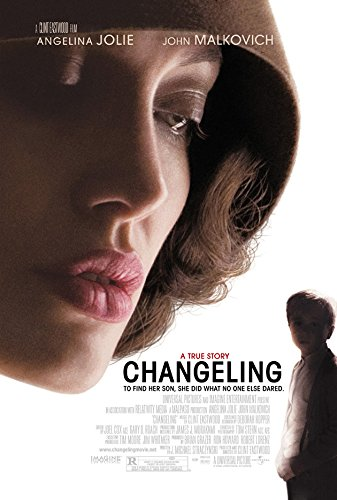 CHANGELING MOVIE POSTER 2 Sided ORIGINAL FINAL 27x40 ANGELINA JOLIE