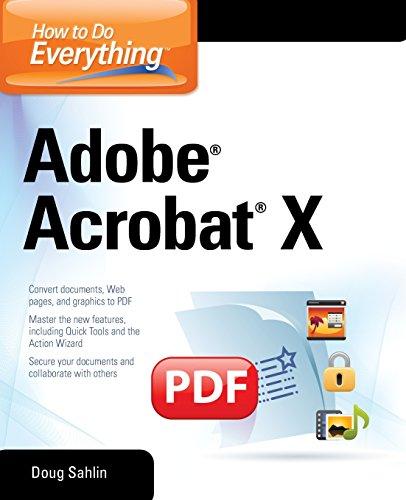 How to Do Everything Adobe Acrobat X