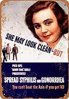 1943売春婦は病気を広めるの収集可能な壁の芸術