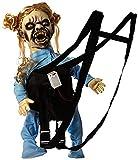 erdbeerclown - Halloween Kostüm- Schocker Horror Baby Puppe in Trage, mit Sound und Licht,...