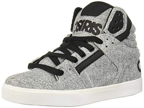 Osiris Men's Clone Skate Shoe, Grey/Tweed, 14 M US