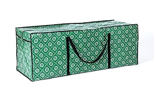 Original Hallerts Aufbewahrungstasche für künstliche Weihnachtsbäume - Lagertasche passend für Kunsttannen aus Spritzguss von 150-210 cm aus PVC Material