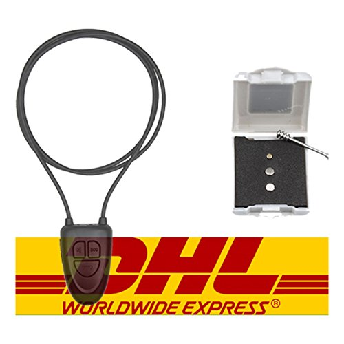 Spy Earpiece kabellose Mini-Hörkapsel mit Bluetooth, nahezu unsichtbar, schwarz