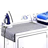 CHiEF STORE Magnetic Ironing Blanket 33'x19' Washer Dryer Heat Resistant Pad, Portable Iron Board Alternative Cover with Magnets, New Version