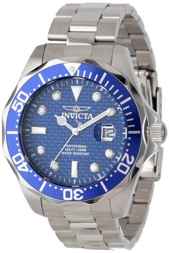 Invicta 12563 Pro Diver Reloj para Hombre acero inoxidable Cuarzo Esfera azul