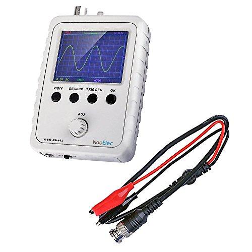 """JYETech 'DSO Shell' Osciloscopio Kit de Bricolaje con Caja y Sonda de NooElec. Osciloscopio de Almacenamiento Digital de Bajo Costo con Pantalla 2.4"""" LCD TFT. DSO150, DSO 150,15001K"""