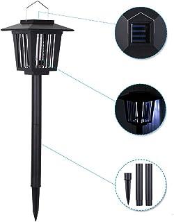 CYYMY Lámpara Antimosquitos,Lámpara Camping Antimosquitos,Mosquito Killer, Lámpara LED Mosquito para Acampar para Patios, Exterior,A