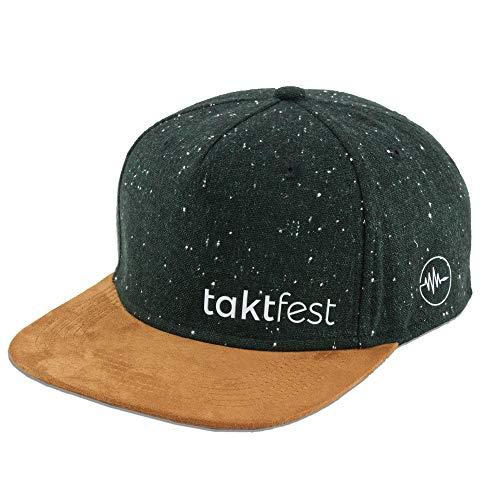 taktfest Brand Snapback Cap für Damen und Herren - Snapback Cap für Musiker - Baseball Mütze verstellbar stylisch und hochwertig als Accessoire für jedes Outfit