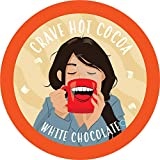 Crave Hot Chocolate Compatible with 2.0 K-Cup Brewers, White Chocolate, 40 Count