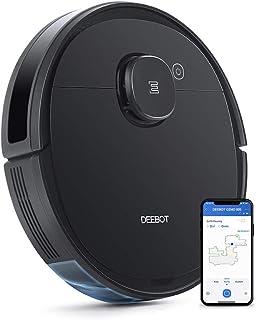 【マッピング機能】DEEBOT OZMO 920 エコバックス ロボット掃除機 複数階マッピング機能 バーチャルウォール 水拭き 強力吸引 除菌率99.26% 長時間稼働 フローリング/畳/カーペット掃除 スマホ連動 Alexa対応 ブラック ...