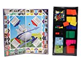 Ratna's Fun Filled Business 5 in 1 Deluxe Game with Plastic Money Coins
