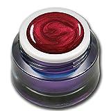 5ml Metallic Farbgel Rot Red Premium Colorgel RM Beautynails