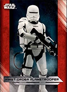 199 #10 Younglings on Ilum Star Wars The Last Jedi White Base Card