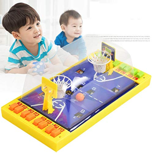Why Choose ierkag Funny Button Control Children Flexibility Tabletop Basketball Game Interactive Toy