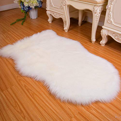 N-B Artificial Sheepskin Fur Carpets, Soft Fluffy Carpets, Chairs, Sofa Covers, Seating Area Carpets, Used for Living Room and Bedroom Sofa Floors