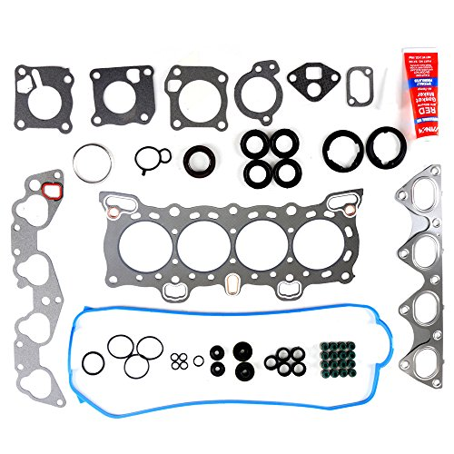 ECCPP Engine Replacement Head Gasket Set fit 1988-1995 for Honda Civic LX VX DX CRX Si 1.5L 1.6L Engine Head Gaskets