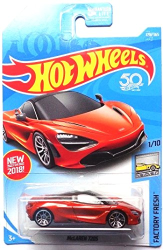 Hot Wheels 2018 50th Anniversary Factory Fresh McLaren 720S 178/365, Orange
