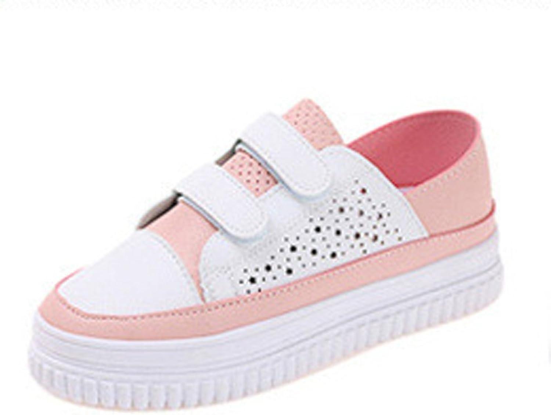 Ladola Womens Hook-And-Loop Slip-Resistant Urethane Walking shoes