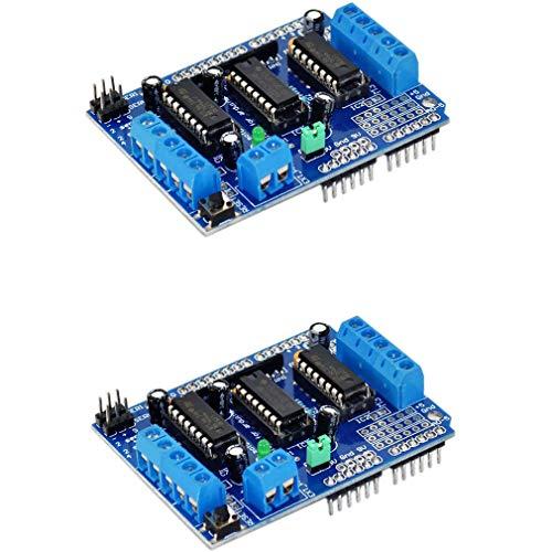 CNC Shield V3/Expansion Board 4pcs DRV8825/Stepper Motor Driver for 3d printer Expansion Board Crest CNC V3.0/ DRV8825/Engine Motor Heat Sink of Steps with kits for Arduino