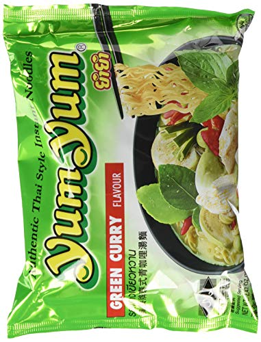 Yum Yum Instant Nudeln Grünes Curry 70g, 45er Pack (45 x 70 g)