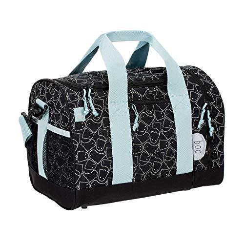 LÄSSIG Sporttasche Junge Kinder Sportbeutel mit Umhängeriemen / Mini Sportsbag, Spooky, black, 40 cm, 19 L