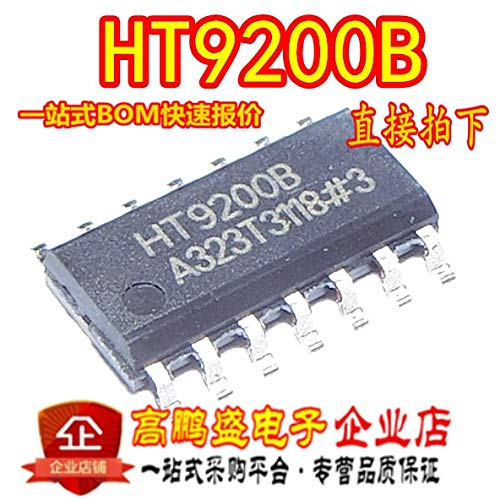 10 teile/los HT9200B HT9200 SOP-14 DTMF Generatoren IC Neue ORIGINAL Dual ton mehrere frequenz generator