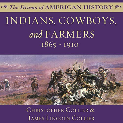Couverture de Indians, Cowboys, and Farmers, and the Battle for the Great Plains