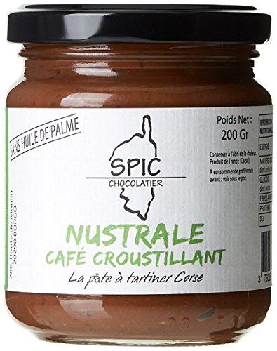 Nustrale Pâte à Tartiner Corse Café Croustillant 200 g - Lot de 3