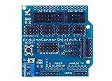 ARCELI UNO R3 Sensor Shield V5.0 Erweiterungsplatine für Arduino Genuino System