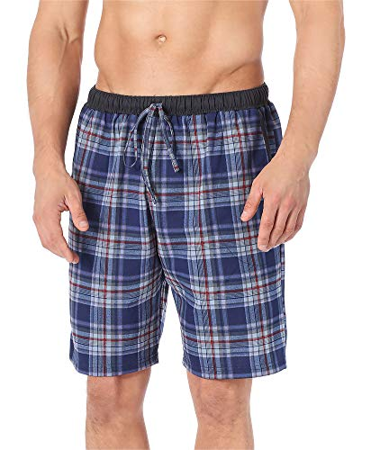 Timone Pantalones Cortos de Pijama Vestidos de Casa Hombre TI30-114 (Modelo5 (9633401), L)
