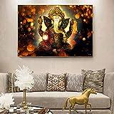 Peintures sur Toile au Mur. Affiches et gravures de divinités hindoues Classiques. Peintures...