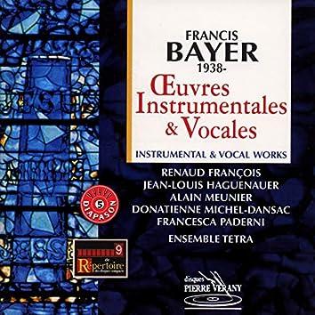 Bayer : œuvres instrumentales & vocales