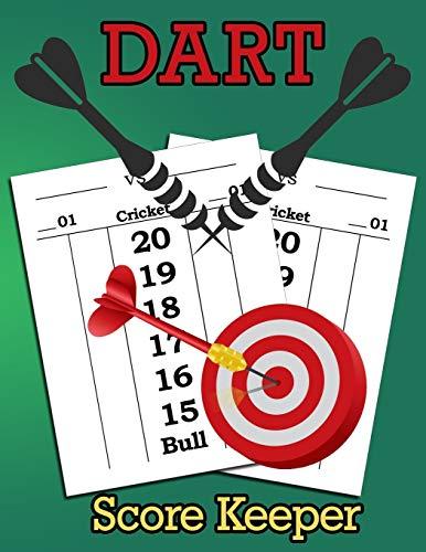 Dart Score Keeper: 100 Darts Score Sheets, Darts Game, Dart Score Pad