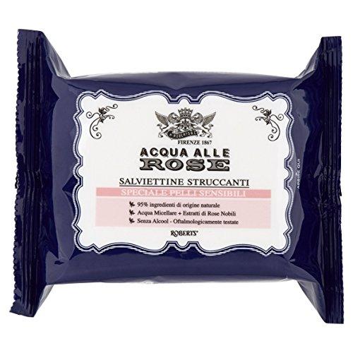 Acqua alle Rose Lingettes Démaquillants, peaux sensibles - confection 6x160g