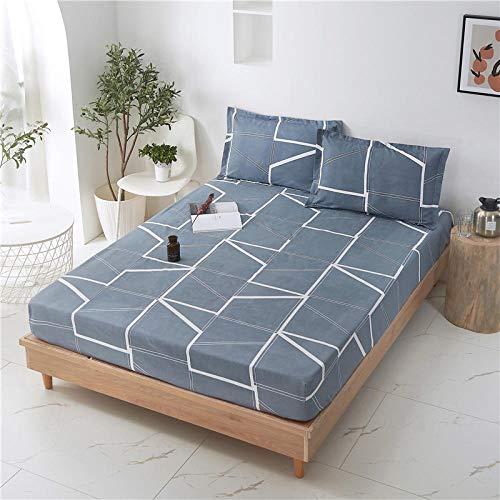 HPPSLT Sábana Ajustable súper Suave, cálida y acogedora La sábana es a Prueba de Polvo y Gruesa -6_200 * 220 + 25cm