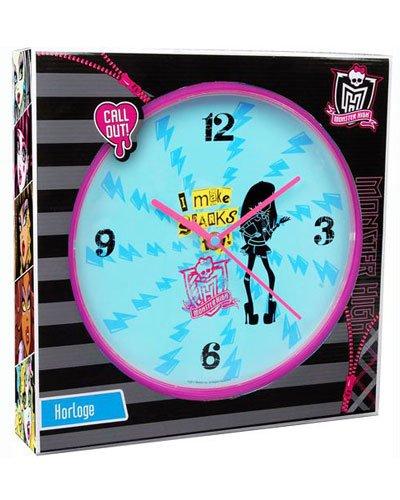 Monster High - MON5357 - Ameublement et Décoration - Horloge