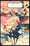 Composition Notebook:Violet Evergarden Anime Manga Journal/Notebook Blank Lined Ruled 6x9 120 Pages