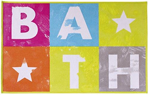 Gelco Design 708643 Tapis de Bain, Multicolore, 50x80 cm