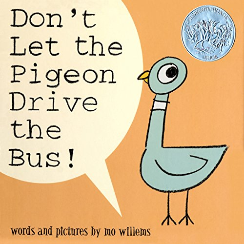 Don't Let the Pigeon Drive the Bus cover art