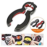 Bottle Can and Jar Opener, Fu Store 6-in-1 Multi Can Bottle Opener Kitchen