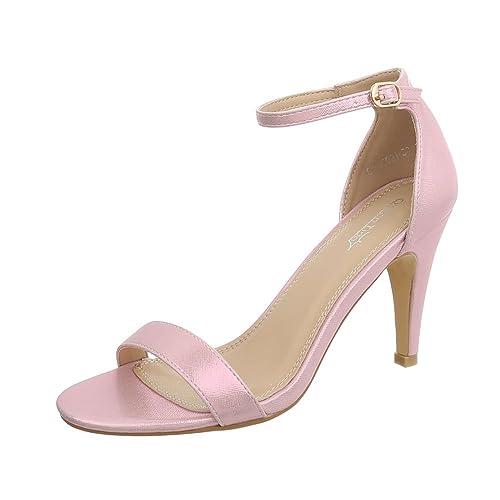 c5edd5a6ce9d56 Ital-Design Damenschuhe Sandalen   Sandaletten High Heel Sandaletten
