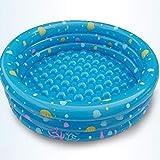 Baby Aufblasbare Pool, Kinder Sand Pool Baby Pool Aufblasbare Faltbad, Kinder Geburtstagsgeschenk - Durchmesser 150 * Höhe 40 Cm
