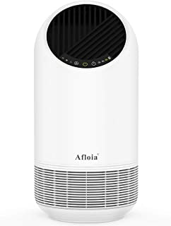 Afloia Air Purifier for Home True HEPA Filter Alleviates Allergies Eliminates Smoke Smog Dust Pollen Odor Germs Mold 100% No Ozone Ultra-Silent Sleep Mode