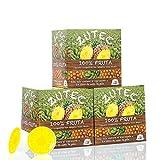 Zutec - Cápsulas de Zumo de Piña - Compatibles con cafeteras Dolce Gusto* - 3 Estuches de 12 cápsulas - 36 cápsulas