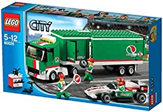 LEGO City 60025 Grand Prix Truck Toy Building Set (MFG Age: 5 - 12 years)(